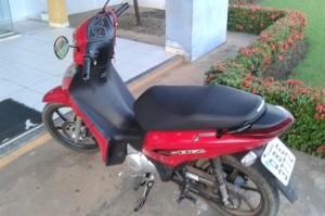 Motocicleta roubada
