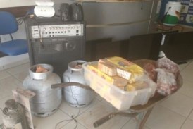 Sorriso: PM recupera objetos roubados da Escola Modelo