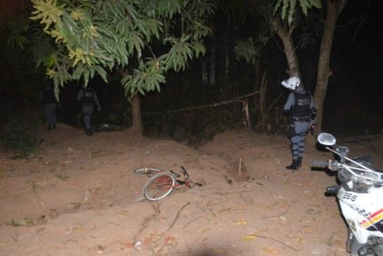 Sorriso: Assaltante fogedebicicleta após efetuar assalto a mercado nazona leste