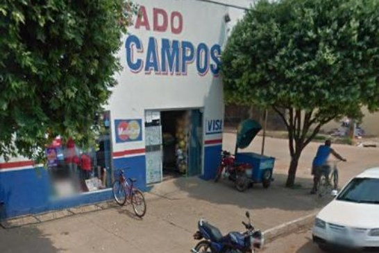Sorriso: Elementos armados assaltam Mercado Novos Campos