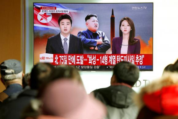 Seul: Novo míssil da Coreia do Norte pode chegar a Washington