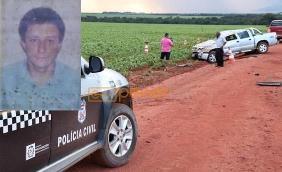 Servidor Público perde a vida após sofrer acidente de carro — Mutum