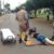 Sorriso: Ciclista sofre fratura exposta em atropelamento de caminhonete no centro