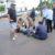 Sorriso: Motociclistas colidem em cruzamentodeavenidas; Bombeiros realizam socorro