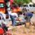 Sorriso:Moto e caminhonete colidem em rotatória; Duas mulheres sofrem fratura